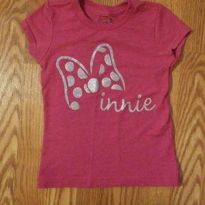 Girl's Disney Minnie XS-4 Tee